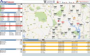 Software Screen Dashboard AcsysTELECOM